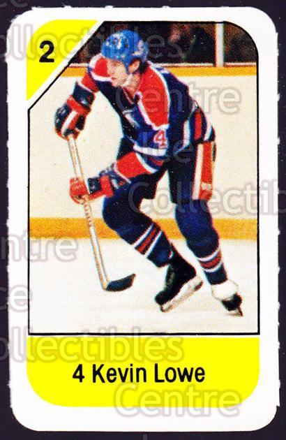 1982-83 Post Cereal #83 Kevin Lowe<br/>2 In Stock - $2.00 each - <a href=https://centericecollectibles.foxycart.com/cart?name=1982-83%20Post%20Cereal%20%2383%20Kevin%20Lowe...&quantity_max=2&price=$2.00&code=226866 class=foxycart> Buy it now! </a>