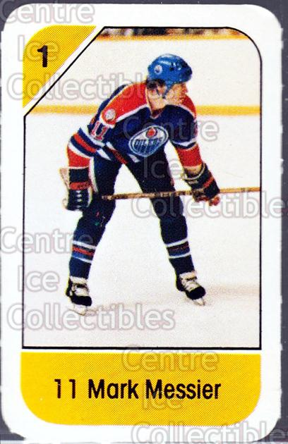 1982-83 Post Cereal #89 Mark Messier<br/>2 In Stock - $3.00 each - <a href=https://centericecollectibles.foxycart.com/cart?name=1982-83%20Post%20Cereal%20%2389%20Mark%20Messier...&quantity_max=2&price=$3.00&code=226872 class=foxycart> Buy it now! </a>