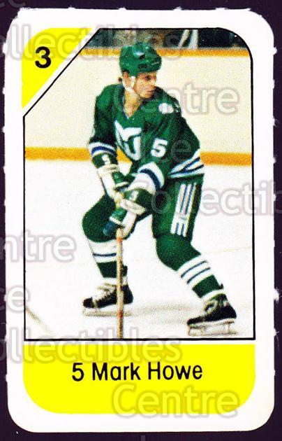 1982-83 Post Cereal #99 Mark Howe<br/>3 In Stock - $2.00 each - <a href=https://centericecollectibles.foxycart.com/cart?name=1982-83%20Post%20Cereal%20%2399%20Mark%20Howe...&quantity_max=3&price=$2.00&code=226882 class=foxycart> Buy it now! </a>