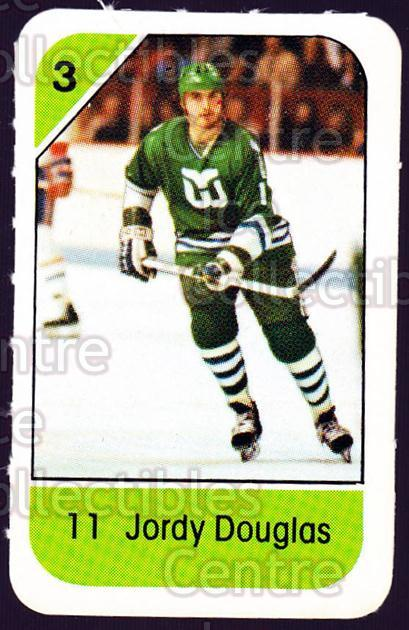 1982-83 Post Cereal #102 Jordy Douglas<br/>3 In Stock - $2.00 each - <a href=https://centericecollectibles.foxycart.com/cart?name=1982-83%20Post%20Cereal%20%23102%20Jordy%20Douglas...&quantity_max=3&price=$2.00&code=226885 class=foxycart> Buy it now! </a>