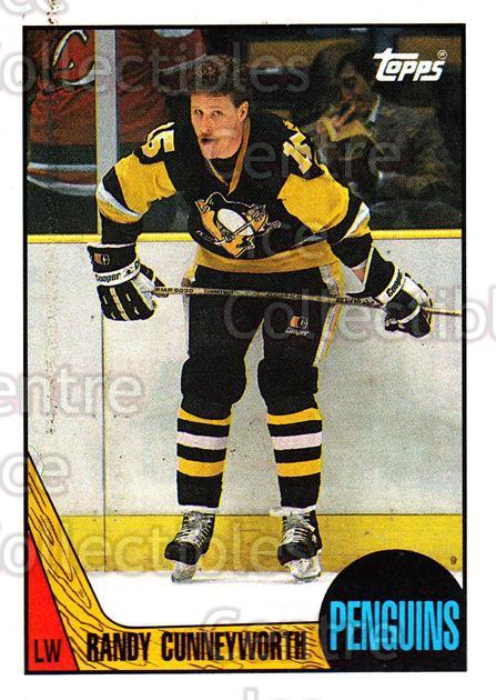 1987-88 Topps #150 Randy Cunneyworth<br/>7 In Stock - $1.00 each - <a href=https://centericecollectibles.foxycart.com/cart?name=1987-88%20Topps%20%23150%20Randy%20Cunneywor...&quantity_max=7&price=$1.00&code=22689 class=foxycart> Buy it now! </a>