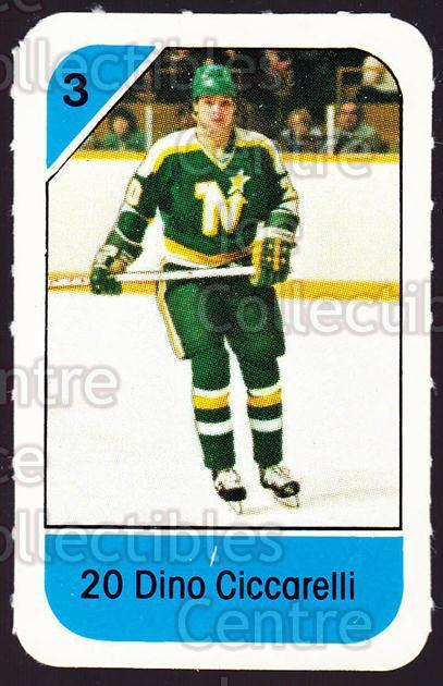 1982-83 Post Cereal #139 Dino Ciccarelli<br/>4 In Stock - $2.00 each - <a href=https://centericecollectibles.foxycart.com/cart?name=1982-83%20Post%20Cereal%20%23139%20Dino%20Ciccarelli...&quantity_max=4&price=$2.00&code=226921 class=foxycart> Buy it now! </a>