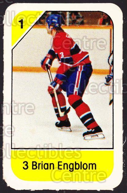 1982-83 Post Cereal #145 Brian Engblom<br/>7 In Stock - $2.00 each - <a href=https://centericecollectibles.foxycart.com/cart?name=1982-83%20Post%20Cereal%20%23145%20Brian%20Engblom...&quantity_max=7&price=$2.00&code=226927 class=foxycart> Buy it now! </a>