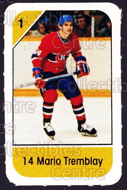1982-83 Post Cereal #150 Mario Tremblay<br/>6 In Stock - $2.00 each - <a href=https://centericecollectibles.foxycart.com/cart?name=1982-83%20Post%20Cereal%20%23150%20Mario%20Tremblay...&quantity_max=6&price=$2.00&code=226932 class=foxycart> Buy it now! </a>
