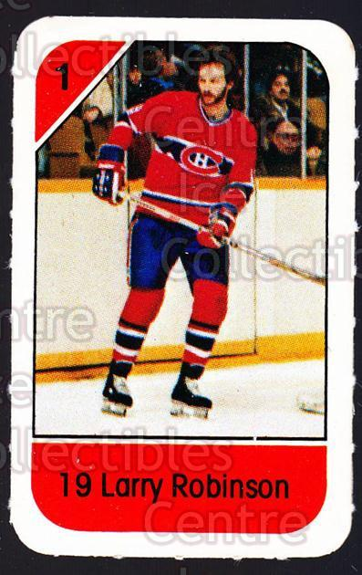 1982-83 Post Cereal #152 Larry Robinson<br/>6 In Stock - $2.00 each - <a href=https://centericecollectibles.foxycart.com/cart?name=1982-83%20Post%20Cereal%20%23152%20Larry%20Robinson...&quantity_max=6&price=$2.00&code=226934 class=foxycart> Buy it now! </a>