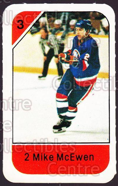 1982-83 Post Cereal #177 Mike McEwen<br/>4 In Stock - $2.00 each - <a href=https://centericecollectibles.foxycart.com/cart?name=1982-83%20Post%20Cereal%20%23177%20Mike%20McEwen...&quantity_max=4&price=$2.00&code=226959 class=foxycart> Buy it now! </a>