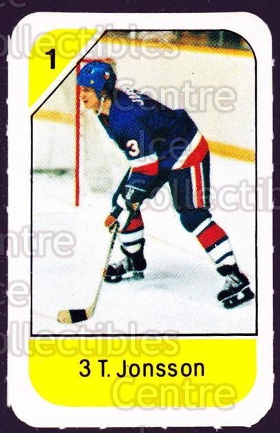 1982-83 Post Cereal #178 Tomas Jonsson<br/>3 In Stock - $2.00 each - <a href=https://centericecollectibles.foxycart.com/cart?name=1982-83%20Post%20Cereal%20%23178%20Tomas%20Jonsson...&quantity_max=3&price=$2.00&code=226960 class=foxycart> Buy it now! </a>