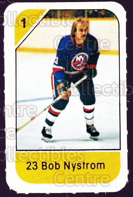1982-83 Post Cereal #187 Bob Nystrom<br/>5 In Stock - $2.00 each - <a href=https://centericecollectibles.foxycart.com/cart?name=1982-83%20Post%20Cereal%20%23187%20Bob%20Nystrom...&quantity_max=5&price=$2.00&code=226969 class=foxycart> Buy it now! </a>