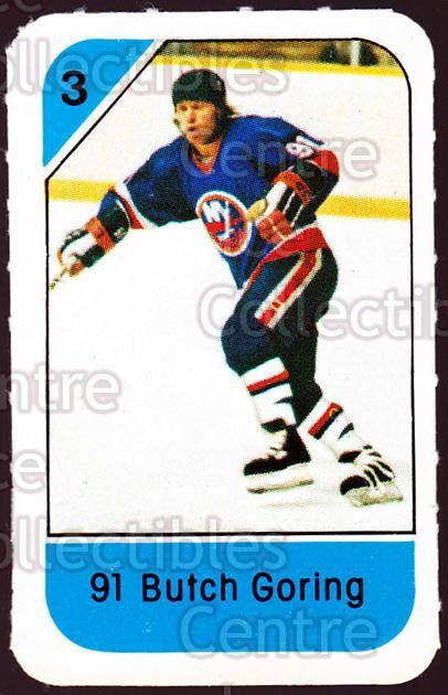 1982-83 Post Cereal #192 Butch Goring<br/>5 In Stock - $2.00 each - <a href=https://centericecollectibles.foxycart.com/cart?name=1982-83%20Post%20Cereal%20%23192%20Butch%20Goring...&quantity_max=5&price=$2.00&code=226974 class=foxycart> Buy it now! </a>