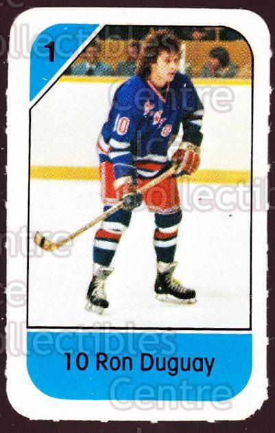 1982-83 Post Cereal #197 Ron Duguay<br/>7 In Stock - $2.00 each - <a href=https://centericecollectibles.foxycart.com/cart?name=1982-83%20Post%20Cereal%20%23197%20Ron%20Duguay...&quantity_max=7&price=$2.00&code=226979 class=foxycart> Buy it now! </a>