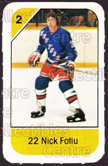 1982-83 Post Cereal #201 Nick Fotiu<br/>4 In Stock - $2.00 each - <a href=https://centericecollectibles.foxycart.com/cart?name=1982-83%20Post%20Cereal%20%23201%20Nick%20Fotiu...&quantity_max=4&price=$2.00&code=226983 class=foxycart> Buy it now! </a>