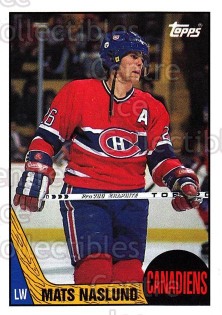 1987-88 Topps #16 Mats Naslund<br/>4 In Stock - $1.00 each - <a href=https://centericecollectibles.foxycart.com/cart?name=1987-88%20Topps%20%2316%20Mats%20Naslund...&quantity_max=4&price=$1.00&code=22699 class=foxycart> Buy it now! </a>