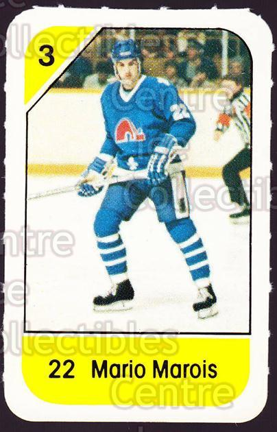 1982-83 Post Cereal #251 Mario Marois<br/>6 In Stock - $2.00 each - <a href=https://centericecollectibles.foxycart.com/cart?name=1982-83%20Post%20Cereal%20%23251%20Mario%20Marois...&quantity_max=6&price=$2.00&code=227033 class=foxycart> Buy it now! </a>