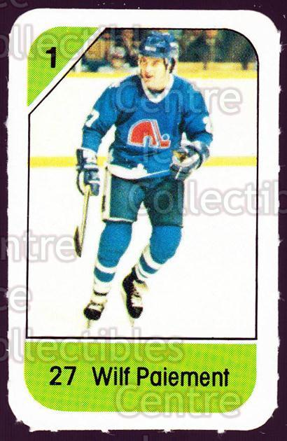 1982-83 Post Cereal #254 Wilf Paiement<br/>7 In Stock - $2.00 each - <a href=https://centericecollectibles.foxycart.com/cart?name=1982-83%20Post%20Cereal%20%23254%20Wilf%20Paiement...&quantity_max=7&price=$2.00&code=227036 class=foxycart> Buy it now! </a>