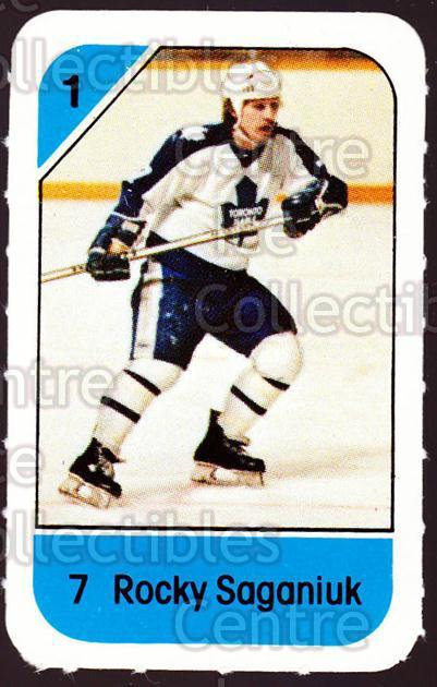 1982-83 Post Cereal #276 Rocky Saganiuk<br/>3 In Stock - $2.00 each - <a href=https://centericecollectibles.foxycart.com/cart?name=1982-83%20Post%20Cereal%20%23276%20Rocky%20Saganiuk...&quantity_max=3&price=$2.00&code=227058 class=foxycart> Buy it now! </a>