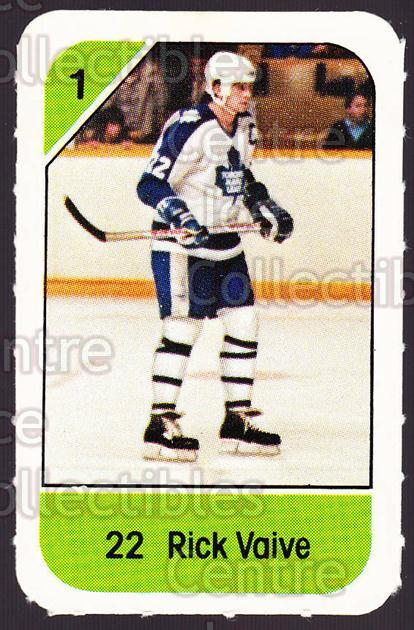 1982-83 Post Cereal #285 Rick Vaive<br/>1 In Stock - $2.00 each - <a href=https://centericecollectibles.foxycart.com/cart?name=1982-83%20Post%20Cereal%20%23285%20Rick%20Vaive...&quantity_max=1&price=$2.00&code=227067 class=foxycart> Buy it now! </a>