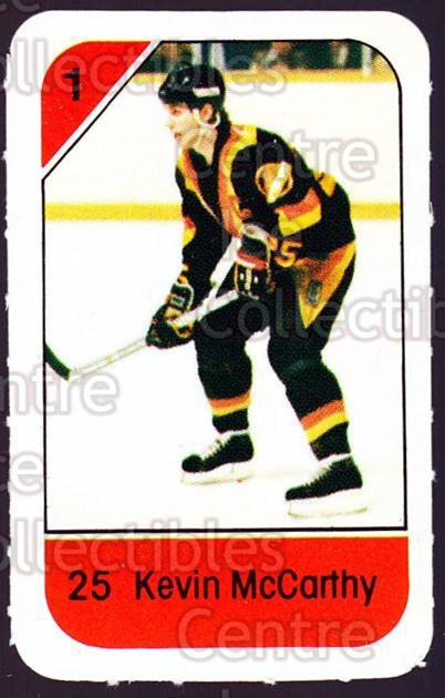 1982-83 Post Cereal #300 Kevin McCarthy<br/>3 In Stock - $2.00 each - <a href=https://centericecollectibles.foxycart.com/cart?name=1982-83%20Post%20Cereal%20%23300%20Kevin%20McCarthy...&quantity_max=3&price=$2.00&code=227082 class=foxycart> Buy it now! </a>