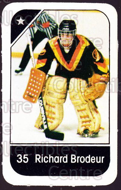 1982-83 Post Cereal #304 Richard Brodeur<br/>2 In Stock - $2.00 each - <a href=https://centericecollectibles.foxycart.com/cart?name=1982-83%20Post%20Cereal%20%23304%20Richard%20Brodeur...&quantity_max=2&price=$2.00&code=227086 class=foxycart> Buy it now! </a>