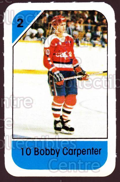 1982-83 Post Cereal #310 Bob Carpenter<br/>5 In Stock - $2.00 each - <a href=https://centericecollectibles.foxycart.com/cart?name=1982-83%20Post%20Cereal%20%23310%20Bob%20Carpenter...&quantity_max=5&price=$2.00&code=227092 class=foxycart> Buy it now! </a>