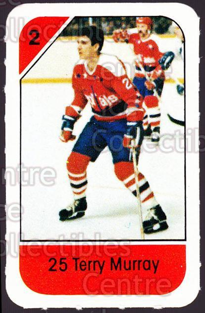 1982-83 Post Cereal #318 Terry Murray<br/>1 In Stock - $2.00 each - <a href=https://centericecollectibles.foxycart.com/cart?name=1982-83%20Post%20Cereal%20%23318%20Terry%20Murray...&quantity_max=1&price=$2.00&code=227100 class=foxycart> Buy it now! </a>