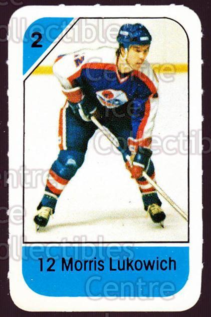 1982-83 Post Cereal #325 Morris Lukowich<br/>5 In Stock - $2.00 each - <a href=https://centericecollectibles.foxycart.com/cart?name=1982-83%20Post%20Cereal%20%23325%20Morris%20Lukowich...&quantity_max=5&price=$2.00&code=227107 class=foxycart> Buy it now! </a>