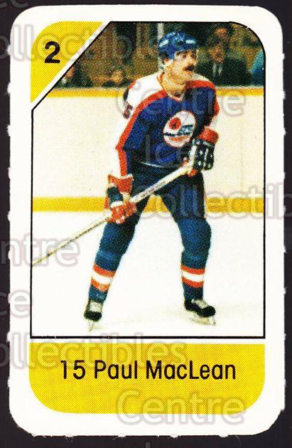 1982-83 Post Cereal #328 Paul MacLean<br/>5 In Stock - $2.00 each - <a href=https://centericecollectibles.foxycart.com/cart?name=1982-83%20Post%20Cereal%20%23328%20Paul%20MacLean...&quantity_max=5&price=$2.00&code=227110 class=foxycart> Buy it now! </a>