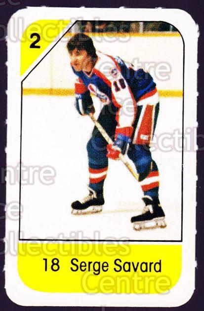 1982-83 Post Cereal #329 Serge Savard<br/>3 In Stock - $2.00 each - <a href=https://centericecollectibles.foxycart.com/cart?name=1982-83%20Post%20Cereal%20%23329%20Serge%20Savard...&quantity_max=3&price=$2.00&code=227111 class=foxycart> Buy it now! </a>