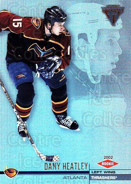 2001-02 Titanium #4 Dany Heatley<br/>5 In Stock - $1.00 each - <a href=https://centericecollectibles.foxycart.com/cart?name=2001-02%20Titanium%20%234%20Dany%20Heatley...&quantity_max=5&price=$1.00&code=227205 class=foxycart> Buy it now! </a>