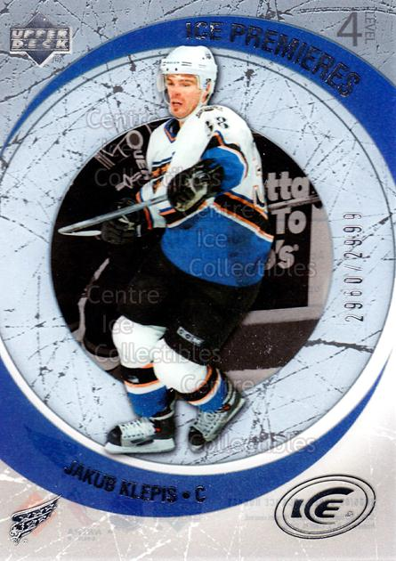 2005-06 UD Ice #179 Jakub Klepis<br/>1 In Stock - $3.00 each - <a href=https://centericecollectibles.foxycart.com/cart?name=2005-06%20UD%20Ice%20%23179%20Jakub%20Klepis...&quantity_max=1&price=$3.00&code=227292 class=foxycart> Buy it now! </a>