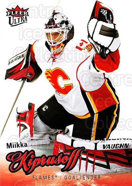 2008-09 Ultra #109 Miikka Kiprusoff<br/>1 In Stock - $2.00 each - <a href=https://centericecollectibles.foxycart.com/cart?name=2008-09%20Ultra%20%23109%20Miikka%20Kiprusof...&quantity_max=1&price=$2.00&code=227450 class=foxycart> Buy it now! </a>