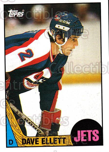 1987-88 Topps #35 Dave Ellett<br/>5 In Stock - $1.00 each - <a href=https://centericecollectibles.foxycart.com/cart?name=1987-88%20Topps%20%2335%20Dave%20Ellett...&quantity_max=5&price=$1.00&code=22755 class=foxycart> Buy it now! </a>