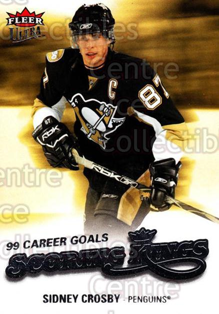 2008-09 Ultra Scoring Kings #1 Sidney Crosby<br/>2 In Stock - $3.00 each - <a href=https://centericecollectibles.foxycart.com/cart?name=2008-09%20Ultra%20Scoring%20Kings%20%231%20Sidney%20Crosby...&price=$3.00&code=227613 class=foxycart> Buy it now! </a>