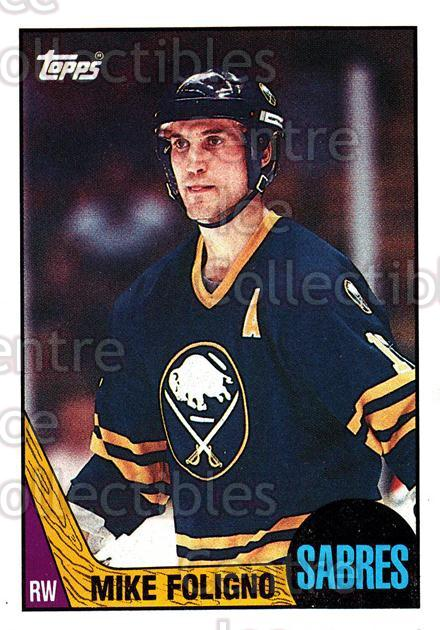 1987-88 Topps #40 Mike Foligno<br/>5 In Stock - $1.00 each - <a href=https://centericecollectibles.foxycart.com/cart?name=1987-88%20Topps%20%2340%20Mike%20Foligno...&quantity_max=5&price=$1.00&code=22761 class=foxycart> Buy it now! </a>