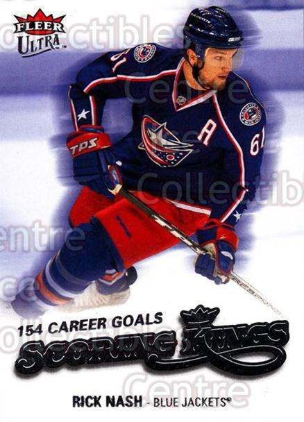 2008-09 Ultra Scoring Kings #13 Rick Nash<br/>3 In Stock - $2.00 each - <a href=https://centericecollectibles.foxycart.com/cart?name=2008-09%20Ultra%20Scoring%20Kings%20%2313%20Rick%20Nash...&quantity_max=3&price=$2.00&code=227625 class=foxycart> Buy it now! </a>