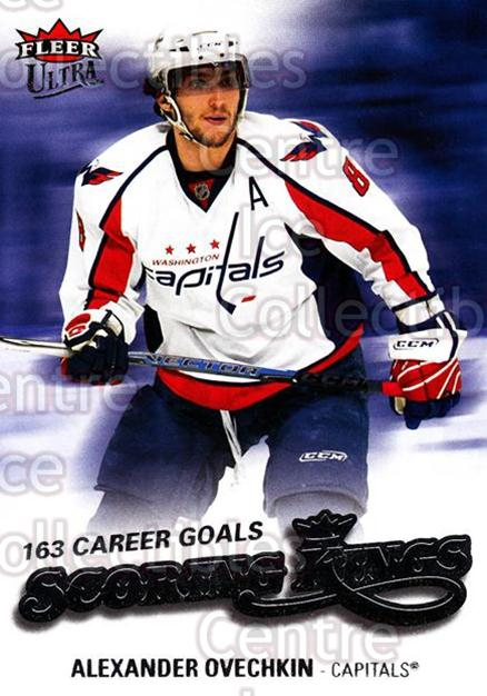 2008-09 Ultra Scoring Kings #20 Alexander Ovechkin<br/>4 In Stock - $2.00 each - <a href=https://centericecollectibles.foxycart.com/cart?name=2008-09%20Ultra%20Scoring%20Kings%20%2320%20Alexander%20Ovech...&price=$2.00&code=227632 class=foxycart> Buy it now! </a>