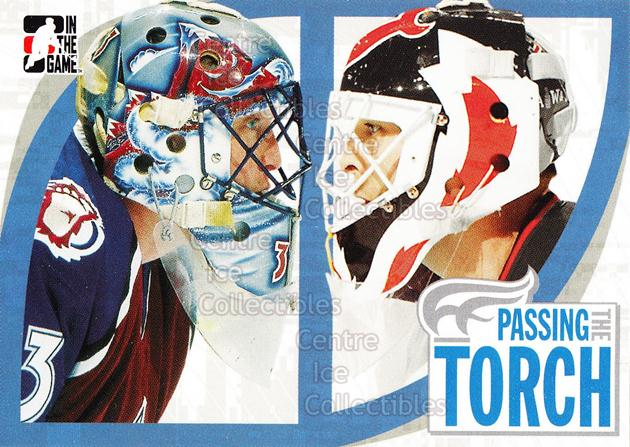 2005-06 ITG Passing the Torch #1 Martin Brodeur, Patrick Roy, Checklist<br/>1 In Stock - $2.00 each - <a href=https://centericecollectibles.foxycart.com/cart?name=2005-06%20ITG%20Passing%20the%20Torch%20%231%20Martin%20Brodeur,...&price=$2.00&code=227633 class=foxycart> Buy it now! </a>