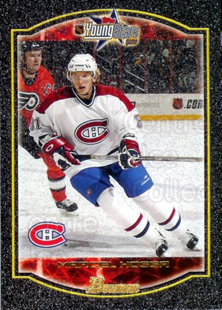2002-03 Bowman YoungStars Silver #110 Marcel Hossa<br/>2 In Stock - $2.00 each - <a href=https://centericecollectibles.foxycart.com/cart?name=2002-03%20Bowman%20YoungStars%20Silver%20%23110%20Marcel%20Hossa...&quantity_max=2&price=$2.00&code=227694 class=foxycart> Buy it now! </a>