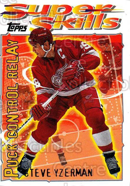 1995-96 Topps Super Skills #10 Steve Yzerman<br/>9 In Stock - $2.00 each - <a href=https://centericecollectibles.foxycart.com/cart?name=1995-96%20Topps%20Super%20Skills%20%2310%20Steve%20Yzerman...&quantity_max=9&price=$2.00&code=227724 class=foxycart> Buy it now! </a>