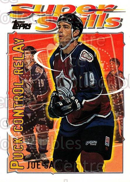 1995-96 Topps Super Skills #17 Joe Sakic<br/>10 In Stock - $2.00 each - <a href=https://centericecollectibles.foxycart.com/cart?name=1995-96%20Topps%20Super%20Skills%20%2317%20Joe%20Sakic...&price=$2.00&code=227726 class=foxycart> Buy it now! </a>
