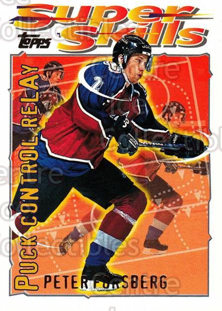 1995-96 Topps Super Skills #18 Peter Forsberg<br/>8 In Stock - $2.00 each - <a href=https://centericecollectibles.foxycart.com/cart?name=1995-96%20Topps%20Super%20Skills%20%2318%20Peter%20Forsberg...&quantity_max=8&price=$2.00&code=227727 class=foxycart> Buy it now! </a>