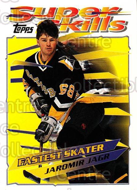 1995-96 Topps Super Skills #20 Jaromir Jagr<br/>8 In Stock - $2.00 each - <a href=https://centericecollectibles.foxycart.com/cart?name=1995-96%20Topps%20Super%20Skills%20%2320%20Jaromir%20Jagr...&quantity_max=8&price=$2.00&code=227728 class=foxycart> Buy it now! </a>
