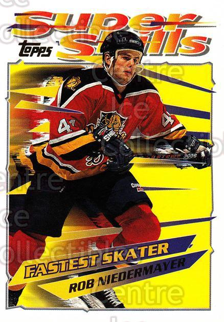 1995-96 Topps Super Skills #22 Rob Niedermayer<br/>10 In Stock - $1.00 each - <a href=https://centericecollectibles.foxycart.com/cart?name=1995-96%20Topps%20Super%20Skills%20%2322%20Rob%20Niedermayer...&quantity_max=10&price=$1.00&code=227729 class=foxycart> Buy it now! </a>