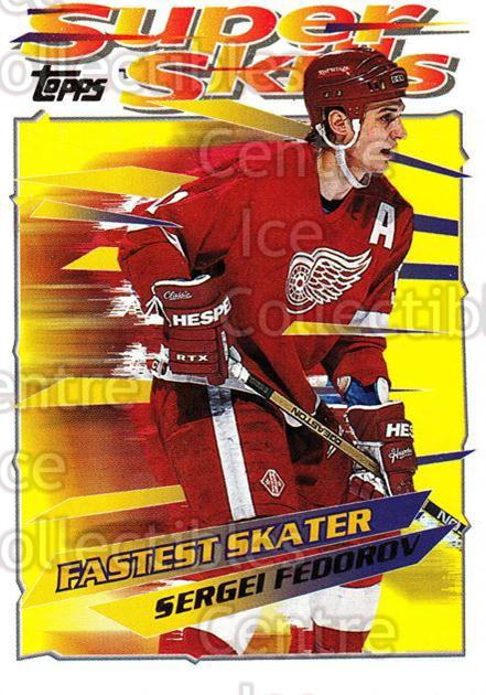 1995-96 Topps Super Skills #34 Sergei Fedorov<br/>10 In Stock - $2.00 each - <a href=https://centericecollectibles.foxycart.com/cart?name=1995-96%20Topps%20Super%20Skills%20%2334%20Sergei%20Fedorov...&quantity_max=10&price=$2.00&code=227732 class=foxycart> Buy it now! </a>