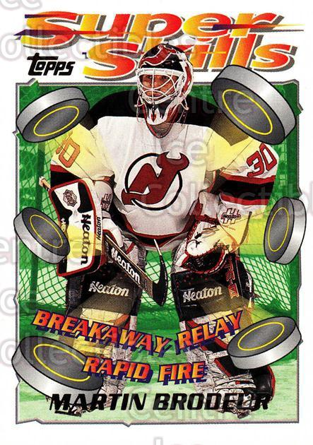 1995-96 Topps Super Skills #80 Martin Brodeur<br/>9 In Stock - $2.00 each - <a href=https://centericecollectibles.foxycart.com/cart?name=1995-96%20Topps%20Super%20Skills%20%2380%20Martin%20Brodeur...&price=$2.00&code=227737 class=foxycart> Buy it now! </a>