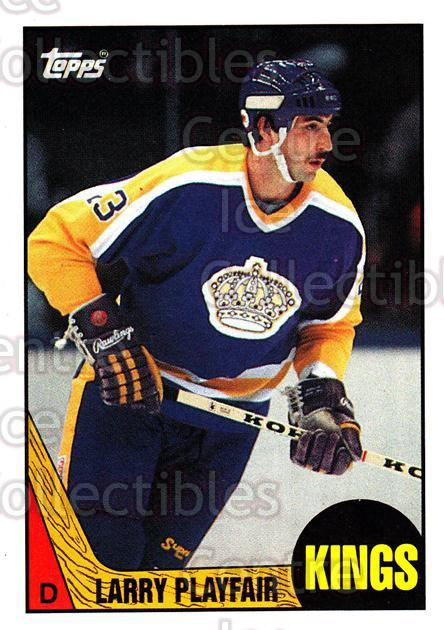 1987-88 Topps #57 Larry Playfair<br/>6 In Stock - $1.00 each - <a href=https://centericecollectibles.foxycart.com/cart?name=1987-88%20Topps%20%2357%20Larry%20Playfair...&quantity_max=6&price=$1.00&code=22776 class=foxycart> Buy it now! </a>