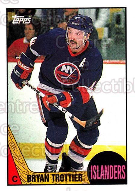 1987-88 Topps #60 Bryan Trottier<br/>3 In Stock - $2.00 each - <a href=https://centericecollectibles.foxycart.com/cart?name=1987-88%20Topps%20%2360%20Bryan%20Trottier...&quantity_max=3&price=$2.00&code=22780 class=foxycart> Buy it now! </a>