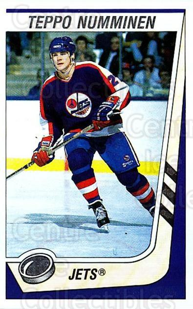 1989-90 Panini Stickers #172 Teppo Numminen<br/>1 In Stock - $1.00 each - <a href=https://centericecollectibles.foxycart.com/cart?name=1989-90%20Panini%20Stickers%20%23172%20Teppo%20Numminen...&quantity_max=1&price=$1.00&code=227 class=foxycart> Buy it now! </a>