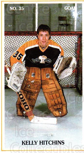 1988-89 Brandon Wheat Kings #20 Kelly Hitchins<br/>4 In Stock - $3.00 each - <a href=https://centericecollectibles.foxycart.com/cart?name=1988-89%20Brandon%20Wheat%20Kings%20%2320%20Kelly%20Hitchins...&quantity_max=4&price=$3.00&code=22834 class=foxycart> Buy it now! </a>