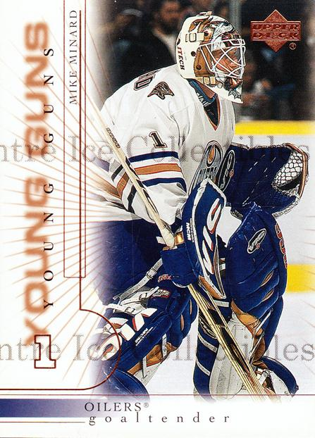 2000-01 Upper Deck #184 Mike Minard<br/>4 In Stock - $3.00 each - <a href=https://centericecollectibles.foxycart.com/cart?name=2000-01%20Upper%20Deck%20%23184%20Mike%20Minard...&price=$3.00&code=228408 class=foxycart> Buy it now! </a>