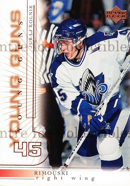 2000-01 Upper Deck #207 Juraj Kolnik<br/>2 In Stock - $3.00 each - <a href=https://centericecollectibles.foxycart.com/cart?name=2000-01%20Upper%20Deck%20%23207%20Juraj%20Kolnik...&price=$3.00&code=228410 class=foxycart> Buy it now! </a>